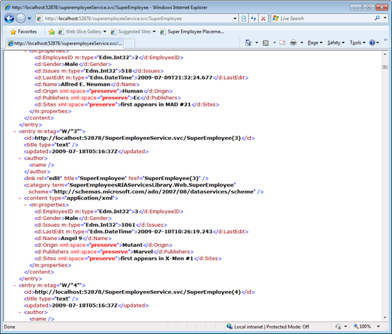 Exemple D'application Métier Avec Silverlight 3 Et .NET